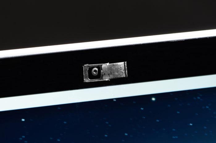 Nouveau produit : Cache de webcam miniature en métal noir