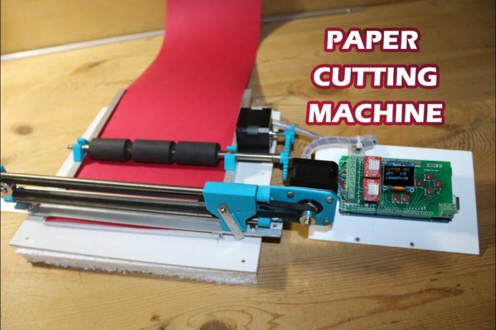 DIY : Fabriquer un coupe papier automatisé à base d'Arduino