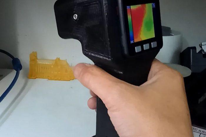 DIY : Fabriquer une camera thermique à bas coût à base de AMG8833
