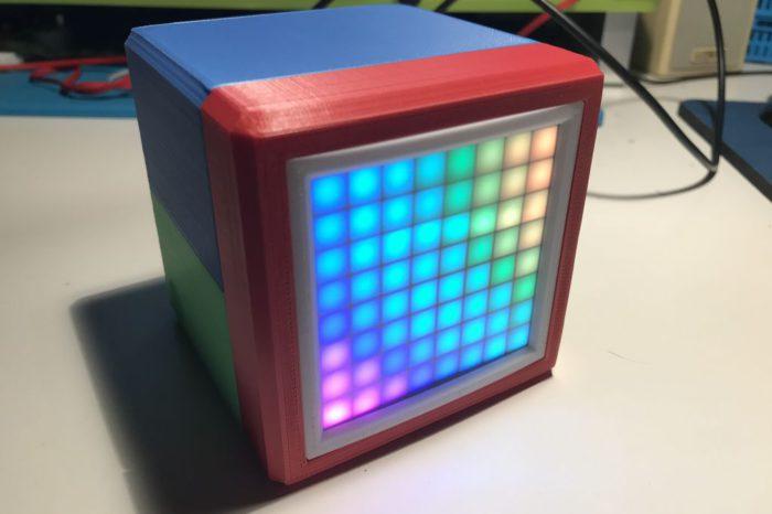 RGB Box Clock : Une horloge connectée à matrice de LED RGB