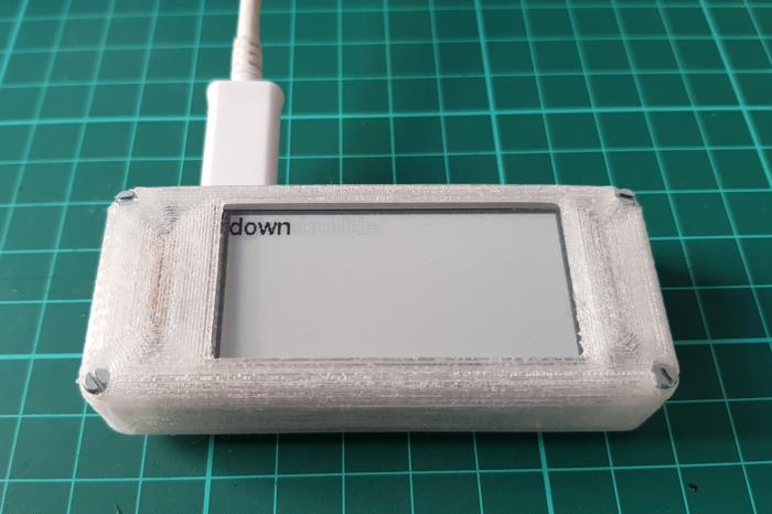 StickPi : Un projet minimal avec un Raspberry PI Zero, un ecran e-paper et quelques boutons.