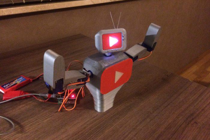 Subby : Le Robot qui danse a chaque nouvel abonné Youtube