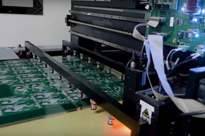 Vidéo : Visite d'une énorme usine fabrication de circuits imprimés en Chine