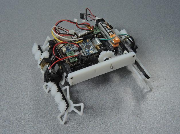 STAR : Un robot modulable à base d'arduino qui se faufile partout